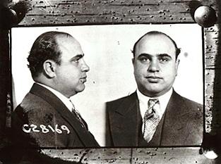 Capone's mx(Capone's mug shot,